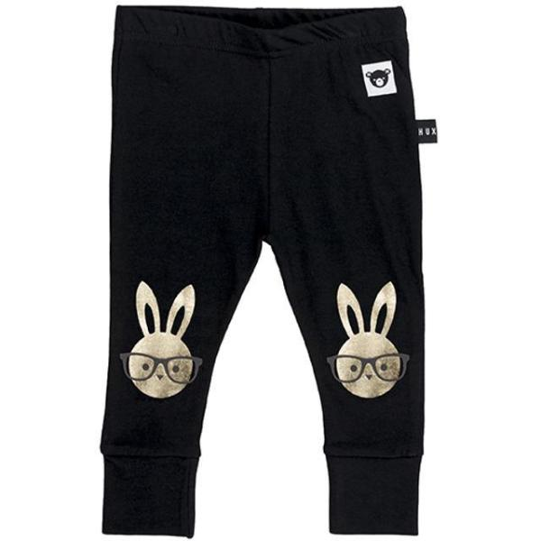 Huxbaby bunny leggings at Bonjour Baby Baskets trendy baby gifts