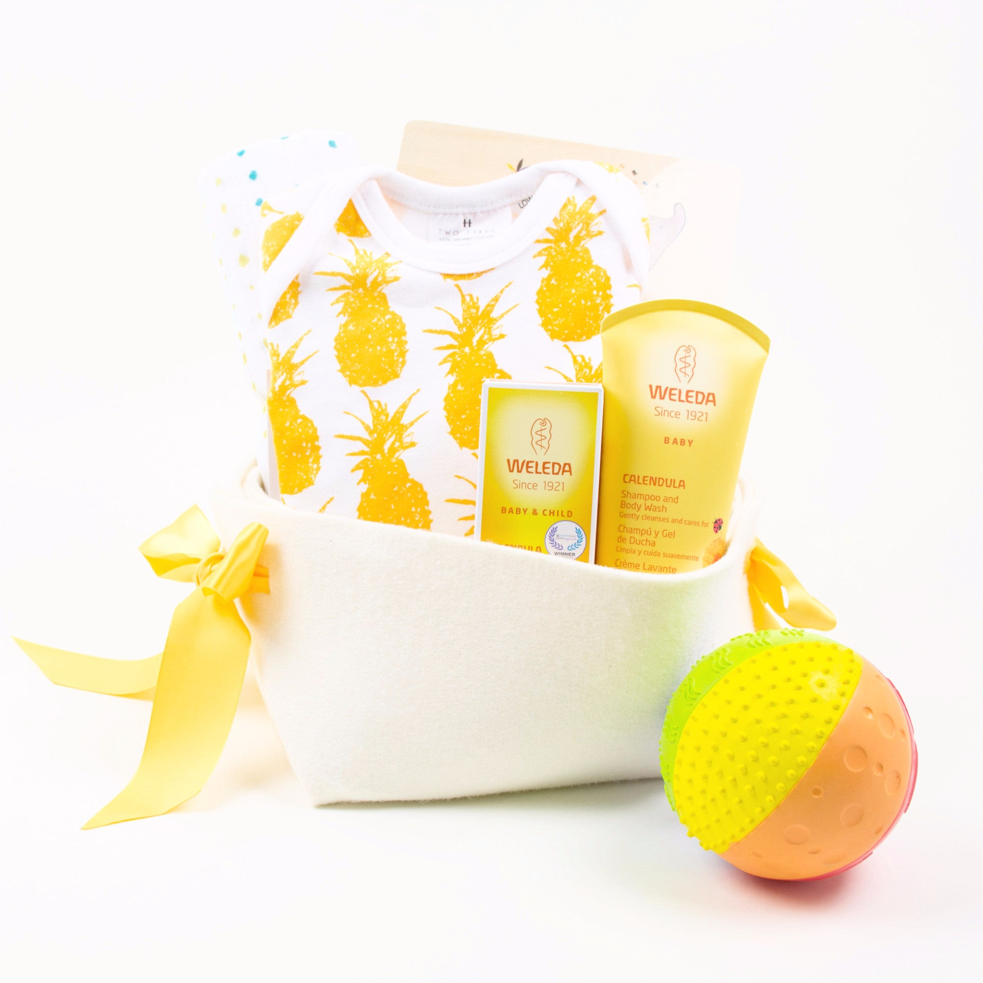 Fun Baby Gift Basket by Bonjour Baby Baskets
