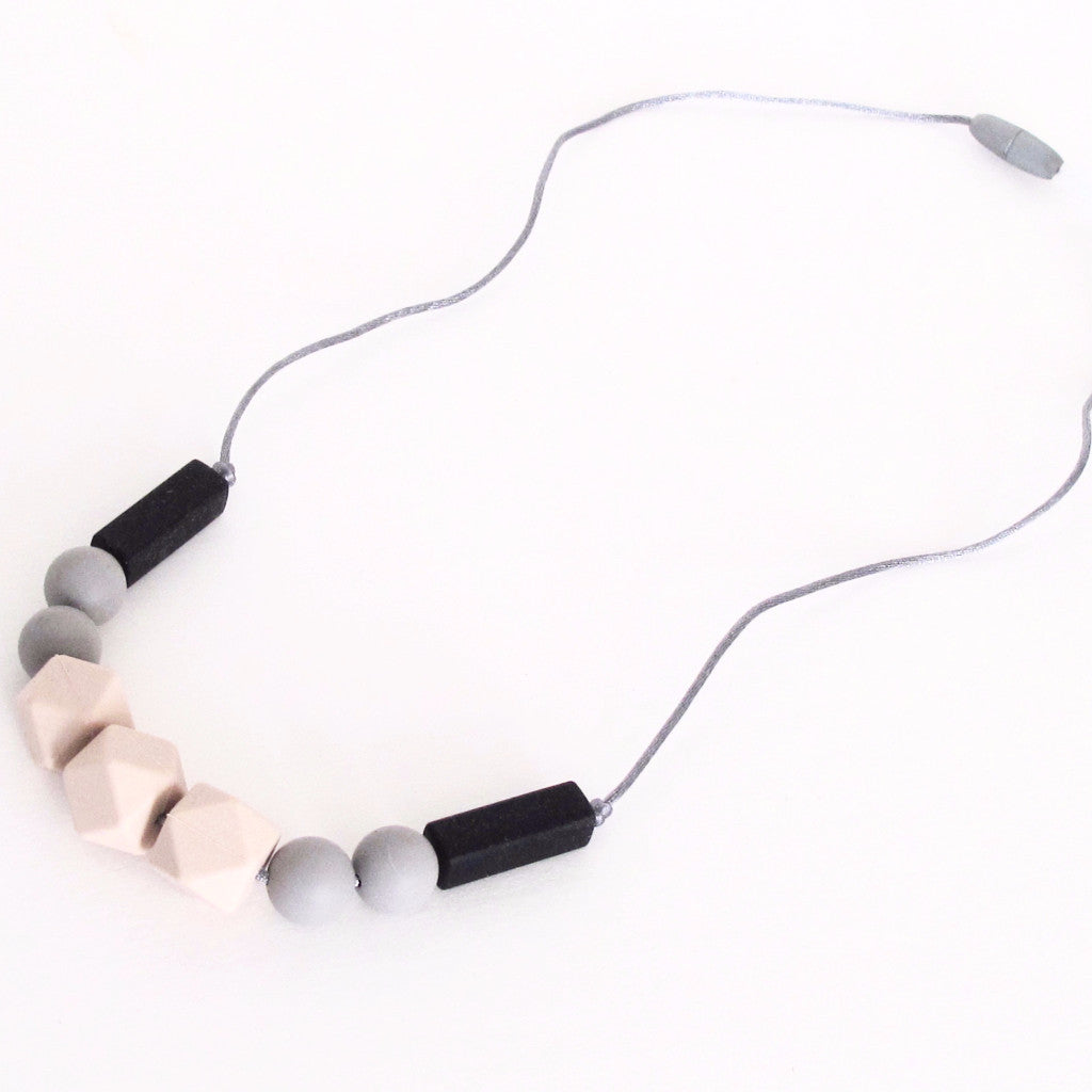 Food Grade Silicone teether necklace Made in Canada