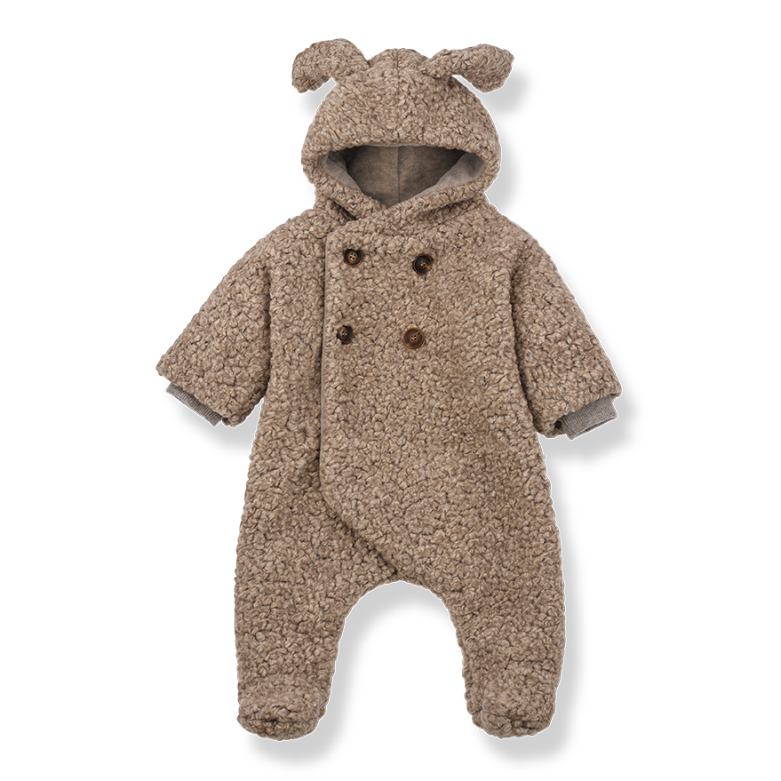 Polar Jumpsuit for baby by 1+ in the Family, perfect addition to our BYOB (Build Your Own Basket)