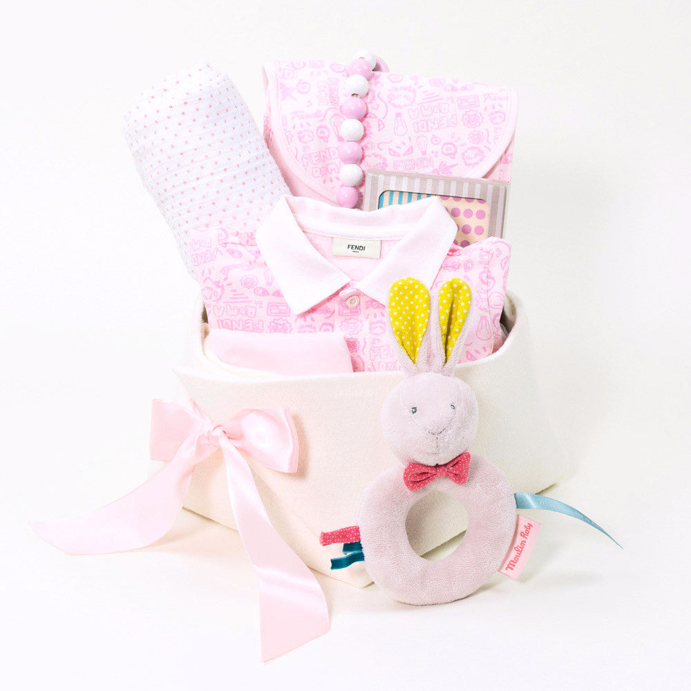 380d42143876 Luxury Collection of Baby Gifts by Fendi – Bonjour Baby Baskets ...