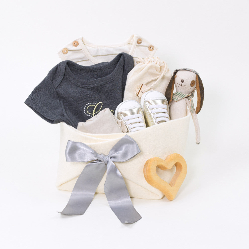 Luxury Baby Gift Basket, great Baby Shower Gift Idea