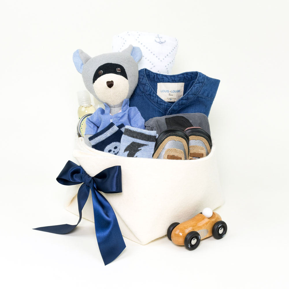 Unique Baby Boy Gift Basket