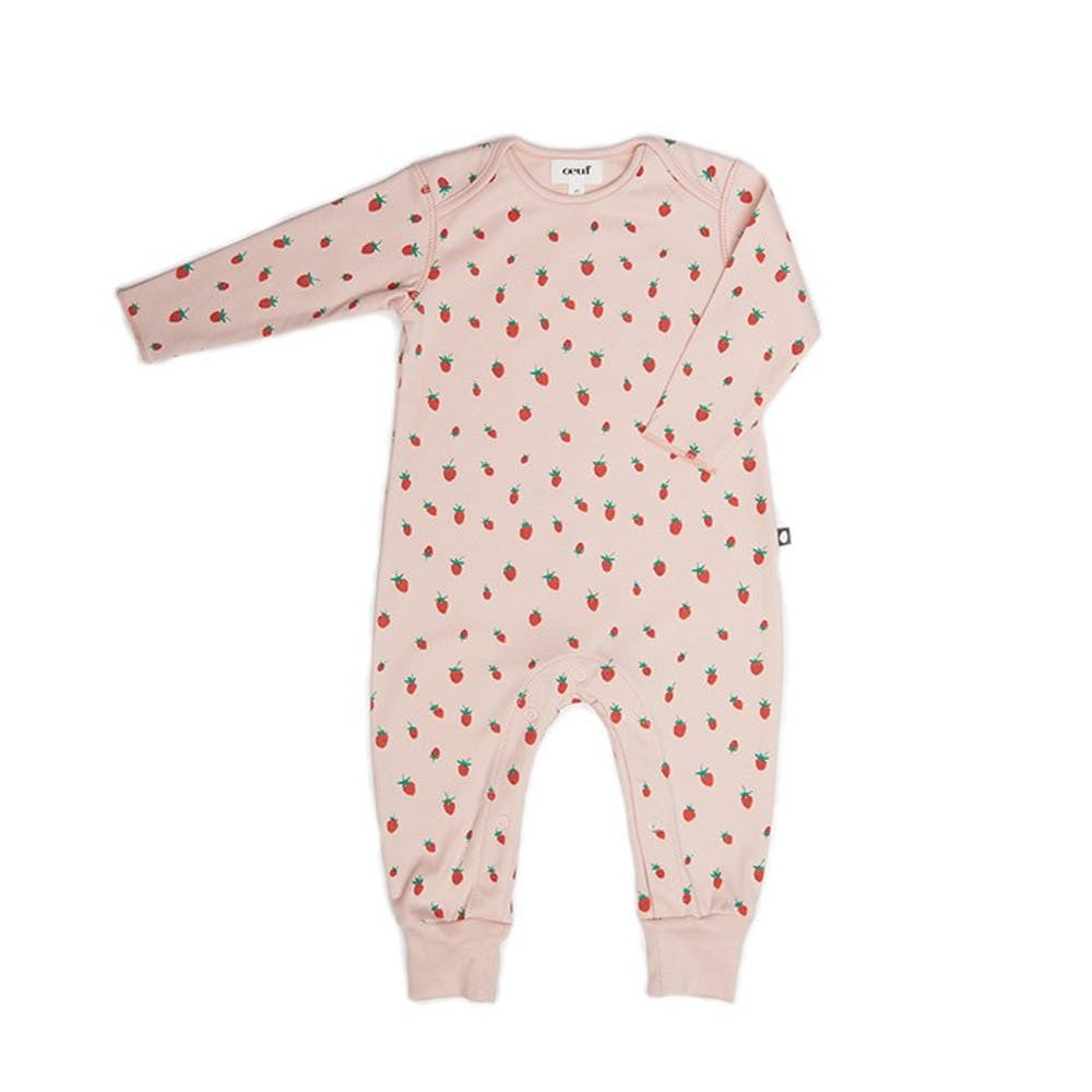 Oeuf Luxury Baby Jumper with Strawberries