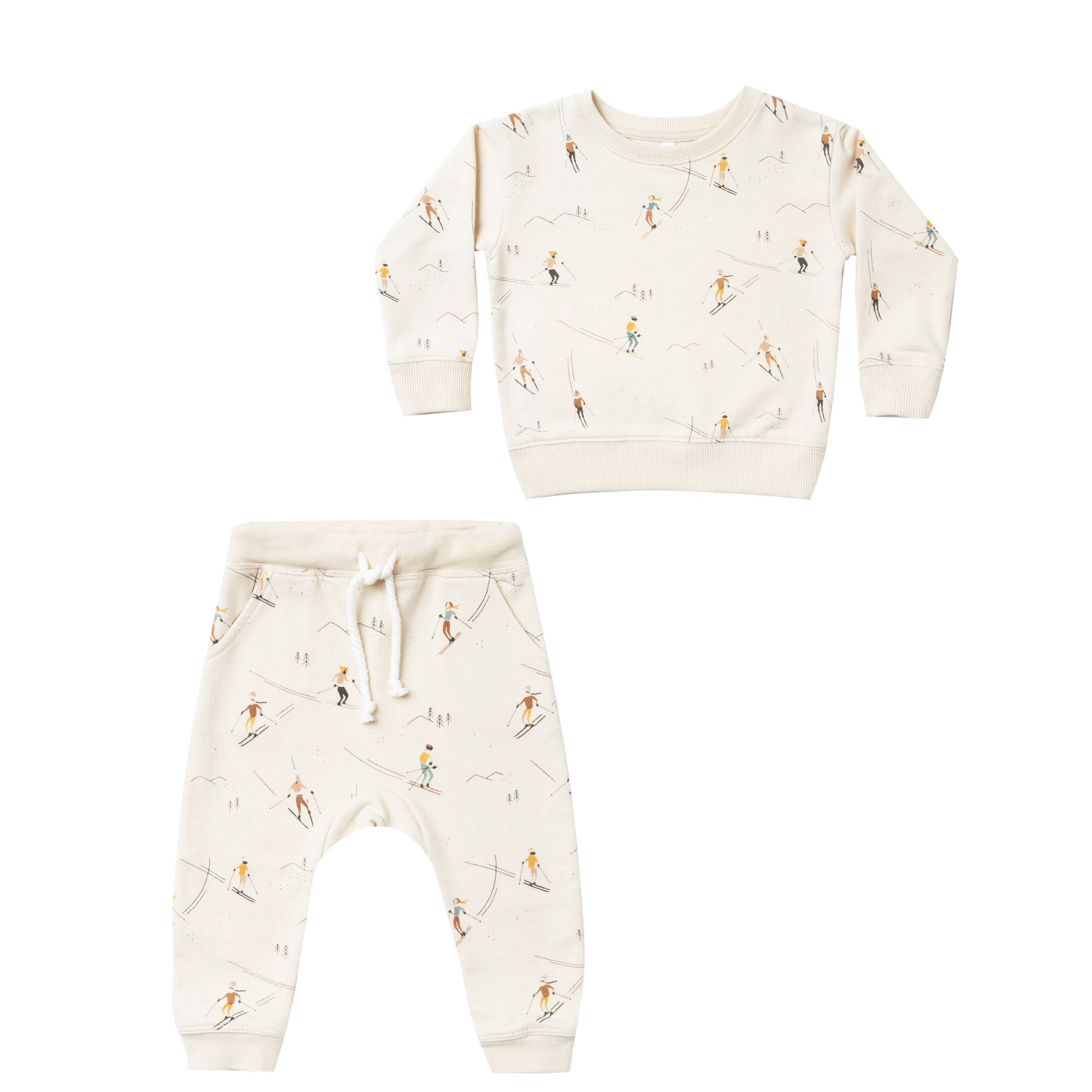 Rylee and Cru baby Sweatshirt and Sweatpants  set at Bonjour Baby Baskets