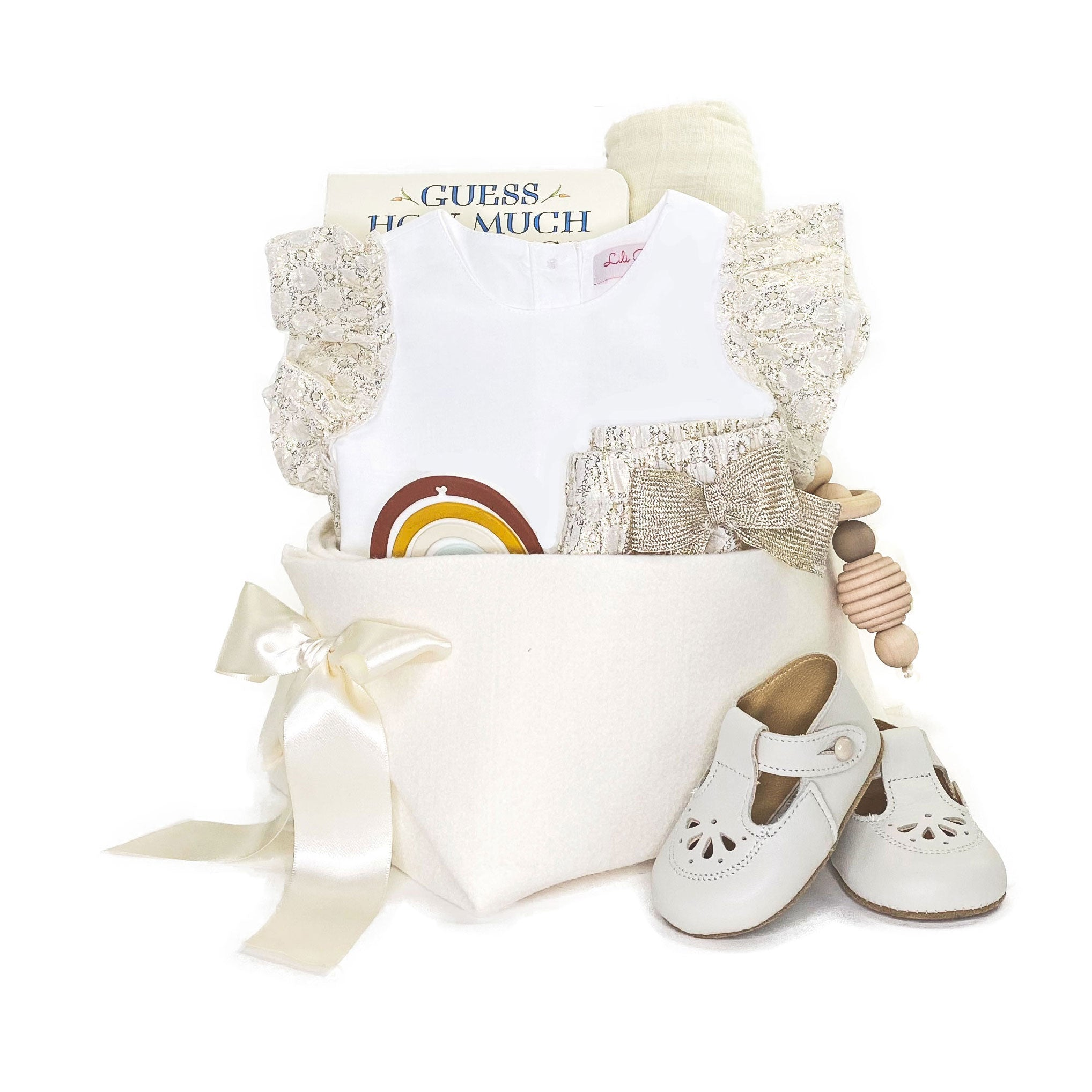 Luxury Ceremonial Baby Gift at Bonjour Baby Baskets