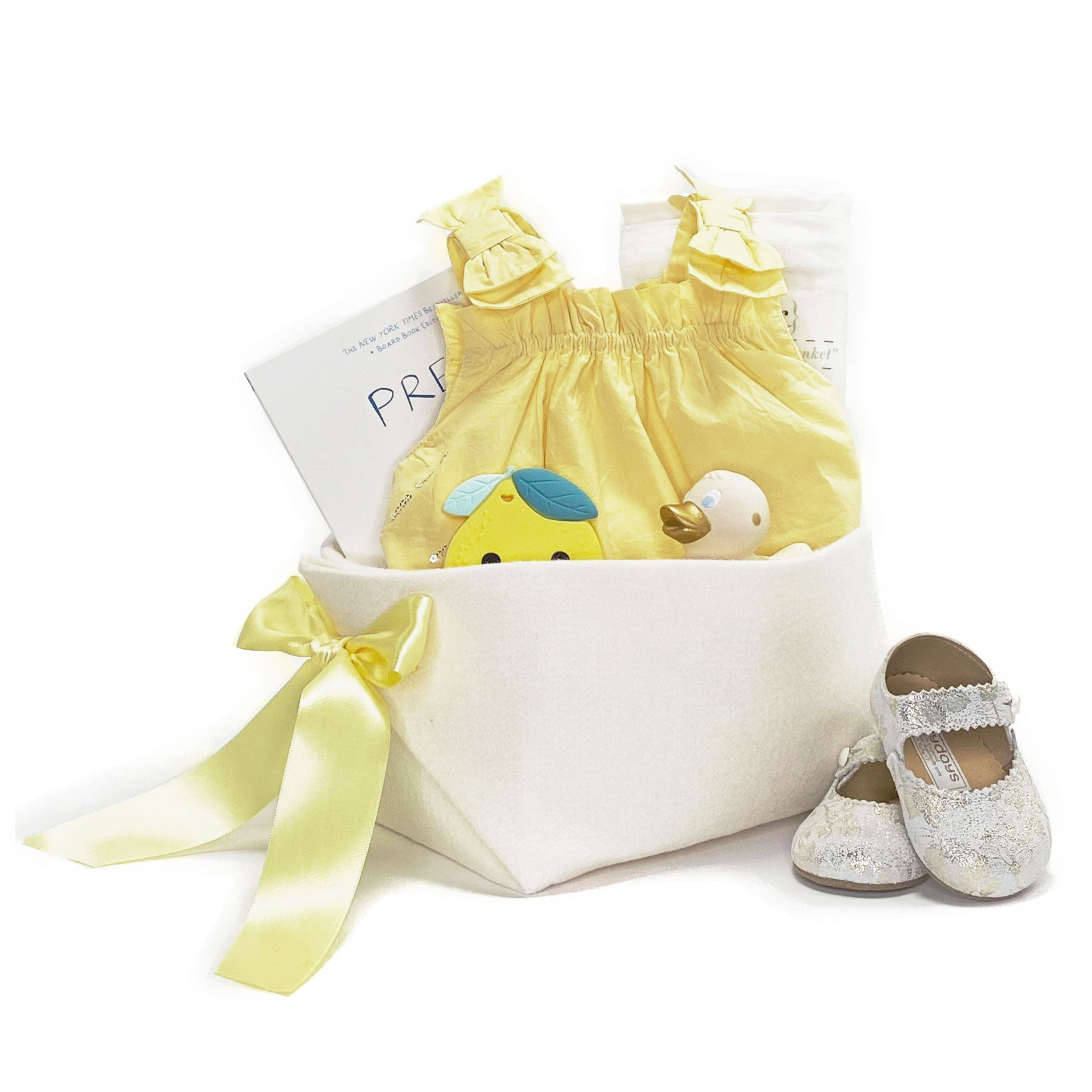 Luxury Baby Girl Gift Basket at Bonjour Baby Baskets