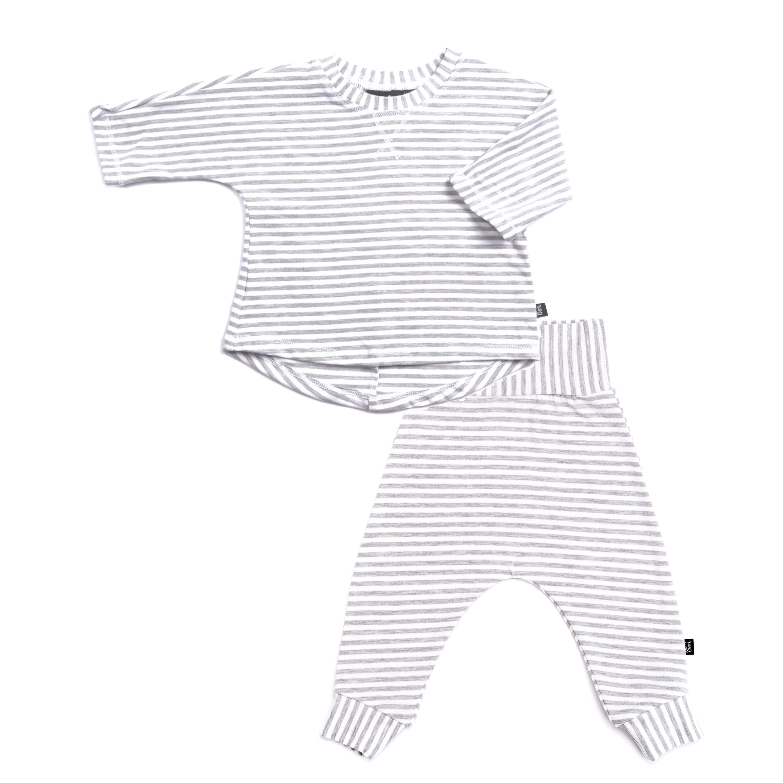 Organic Cotton two piece baby outfit