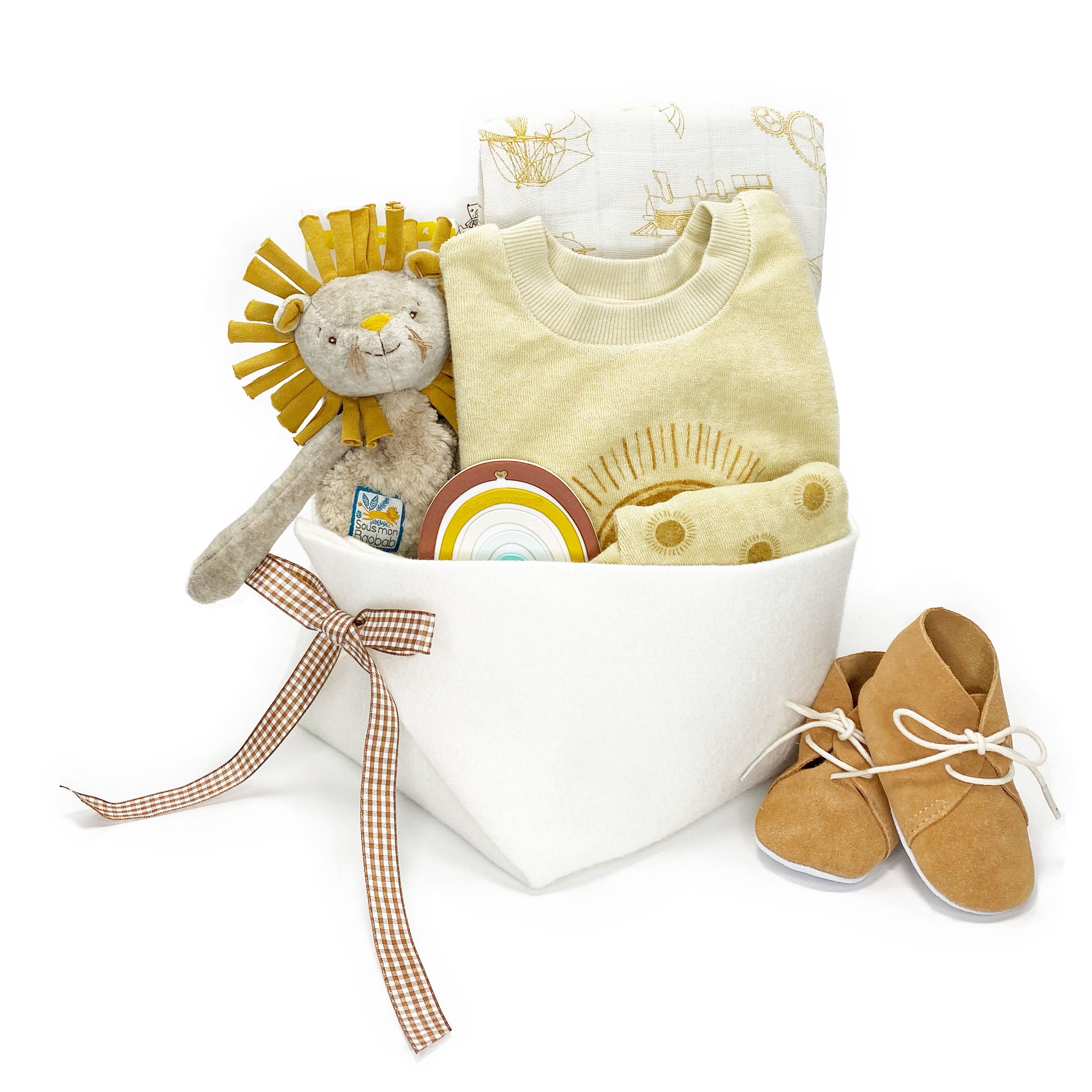 Rylee and Cru Trendy Baby Gift at Bonjour Baby Baskets - Best Corporate Baby Gifts