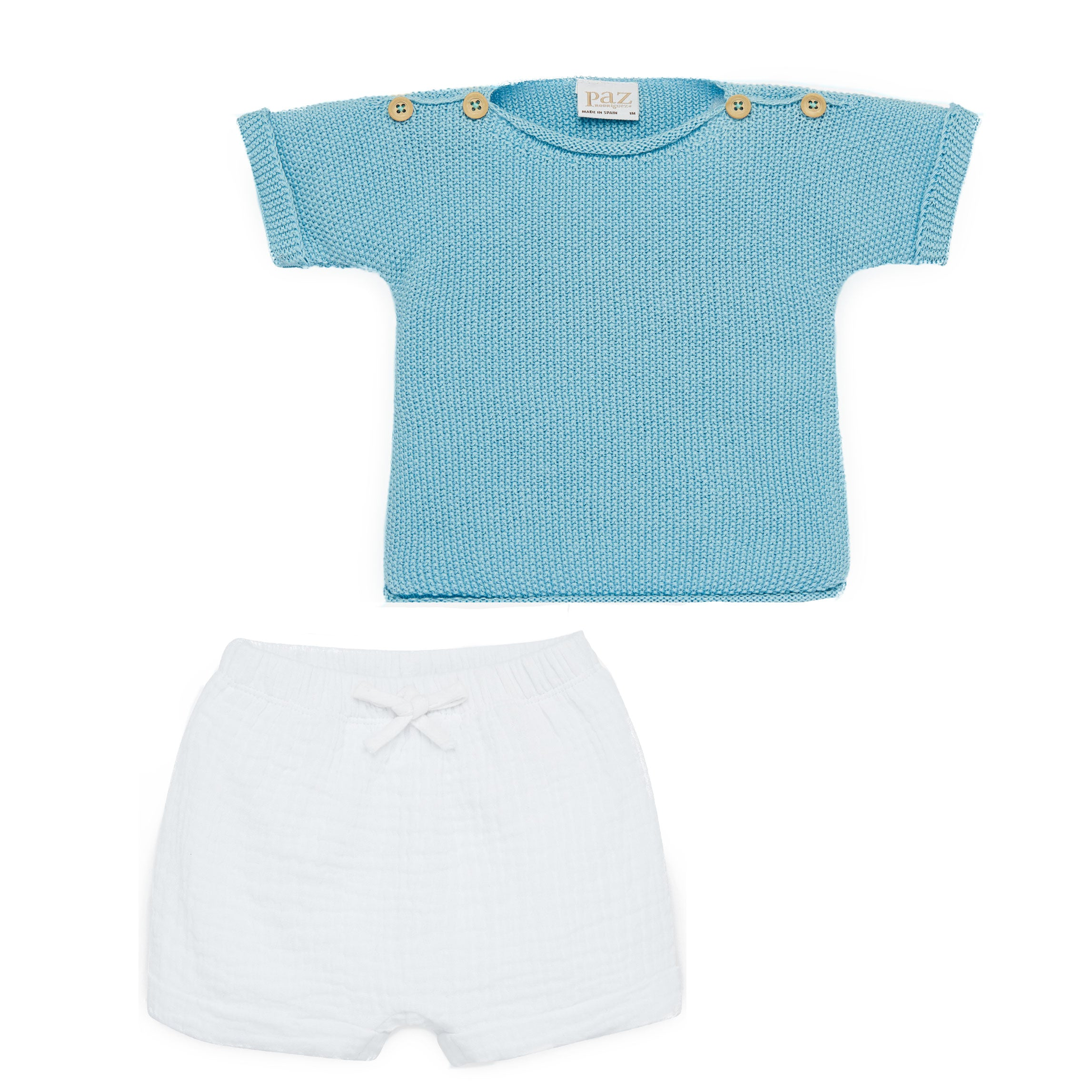 Paz Rodriguez Luxury Baby set perfect for a Corporate Baby Gift