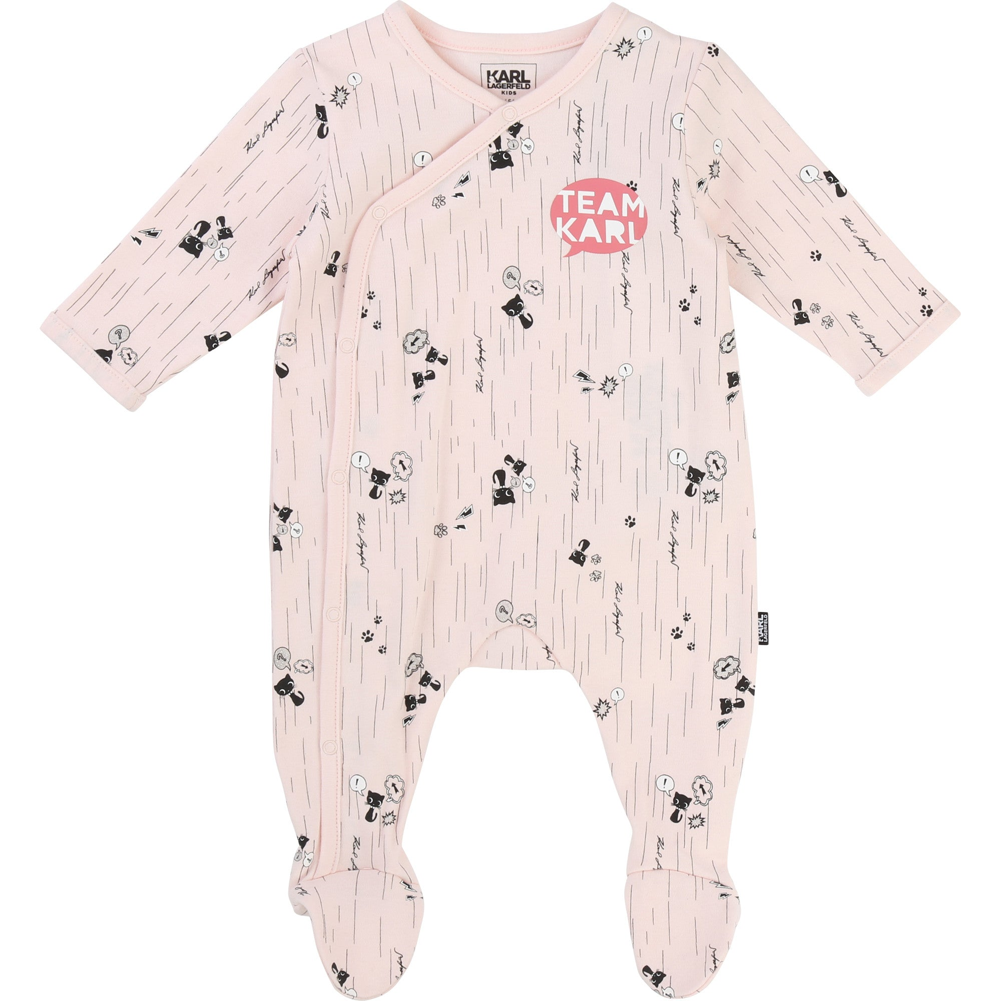 KARL LAGERFELD Kids baby sleeper Choupette at Bonjour Baby Baskets