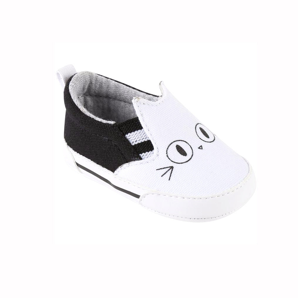 KARL LAGERFELD Kids Slip on Baby Pre-Walkers at Bonjour Baby Baskets