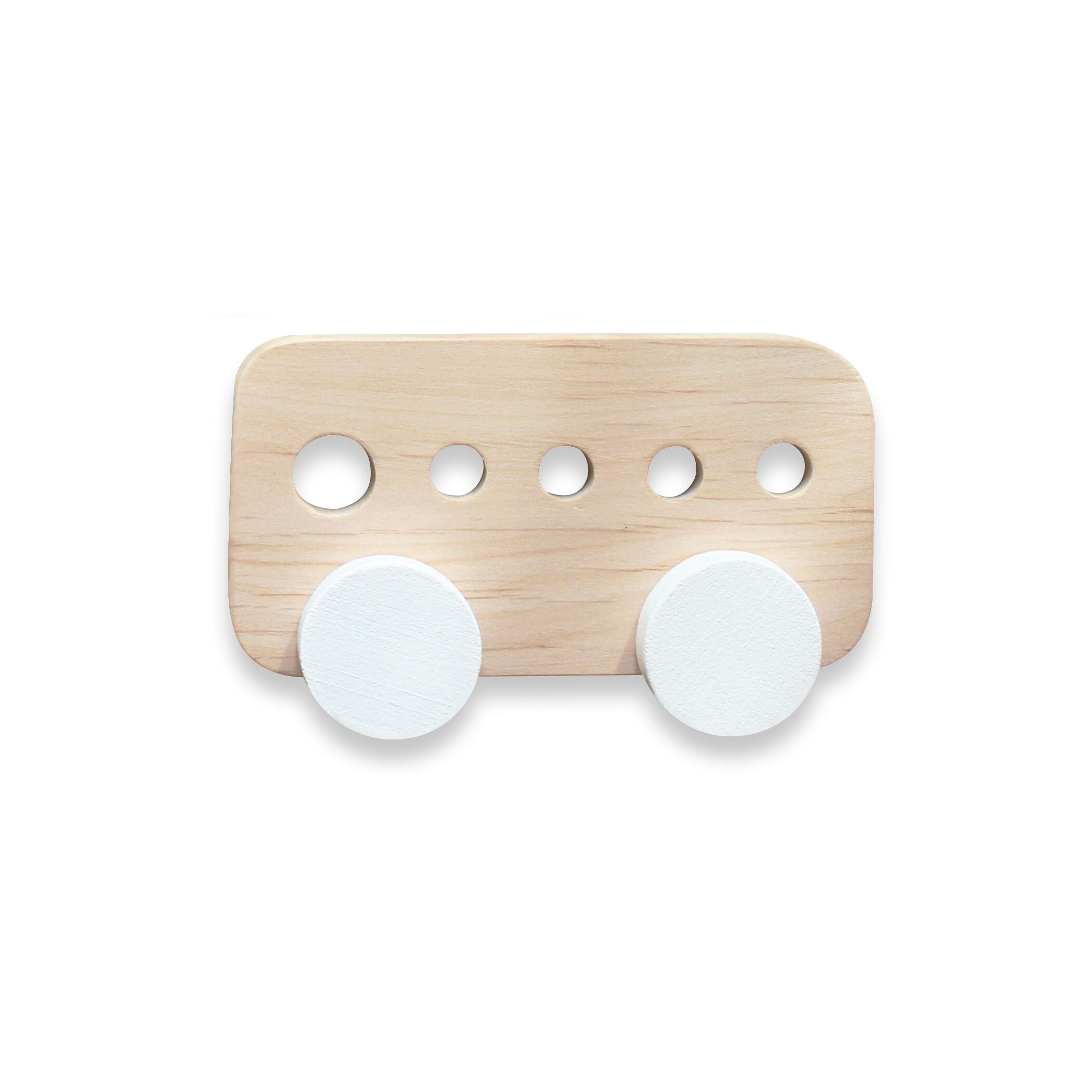 Wooden bus toy at Bonjour Baby Baskets, best baby gifts