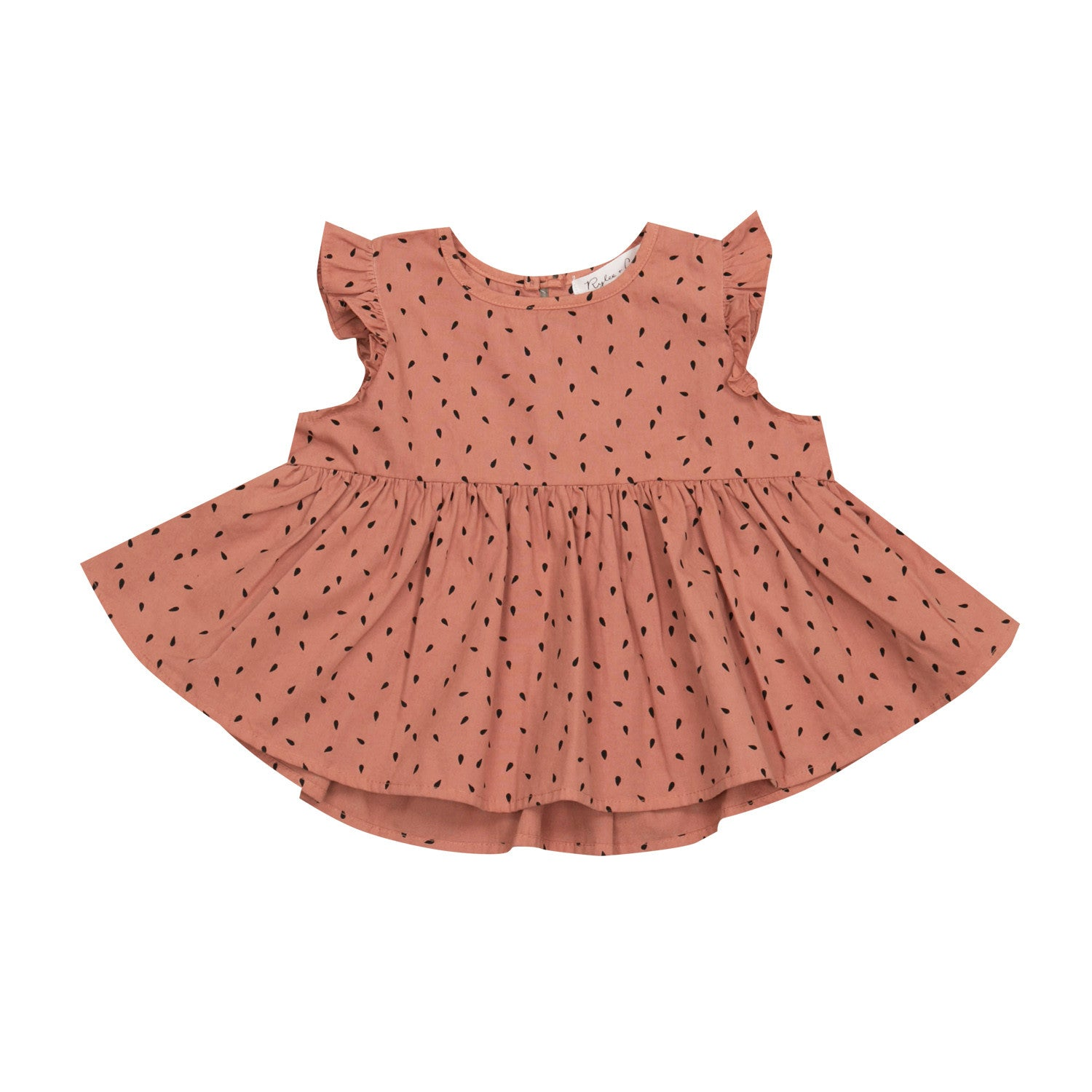Apple Seed dress and bloomer set
