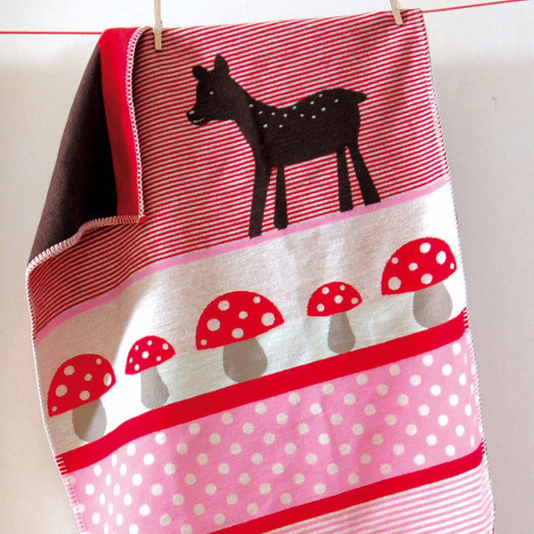 Blanket with Deer - Organic