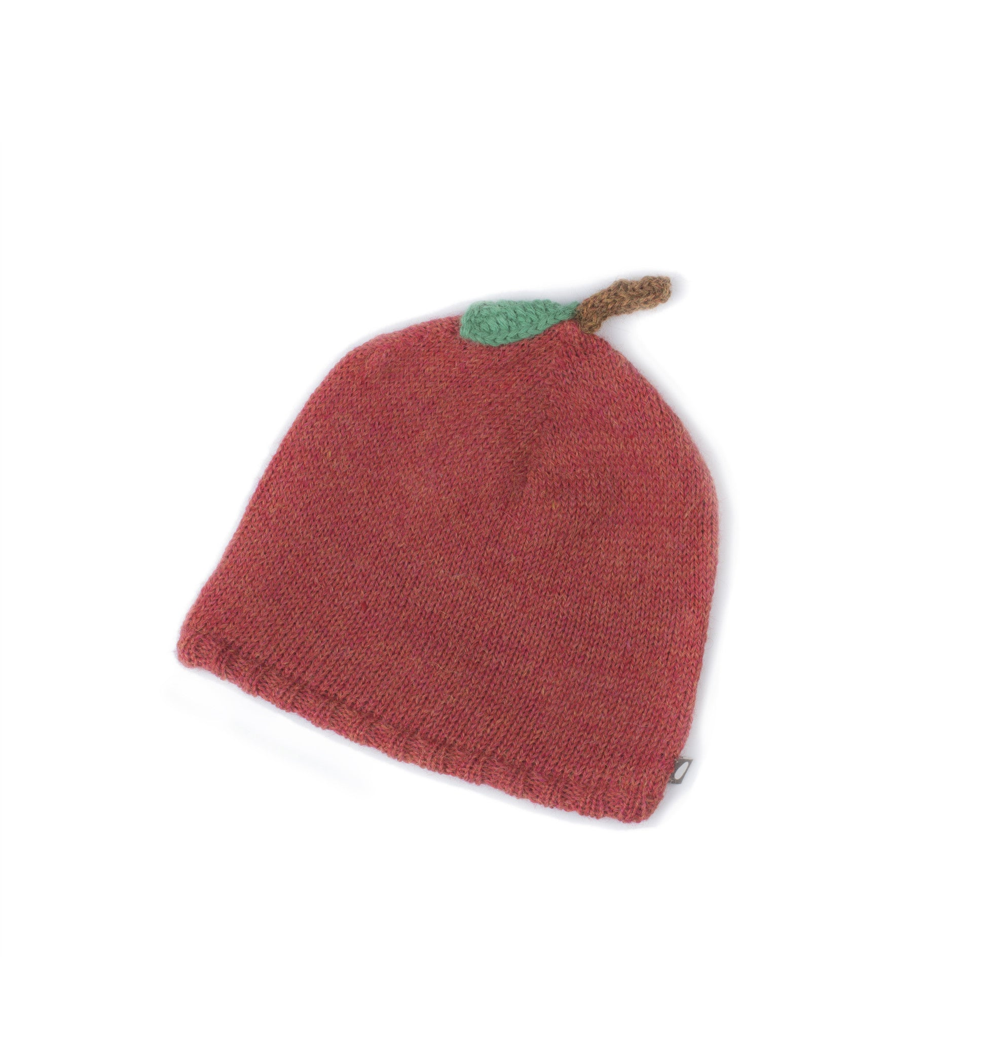 Alpaca Knitted Apple Hat