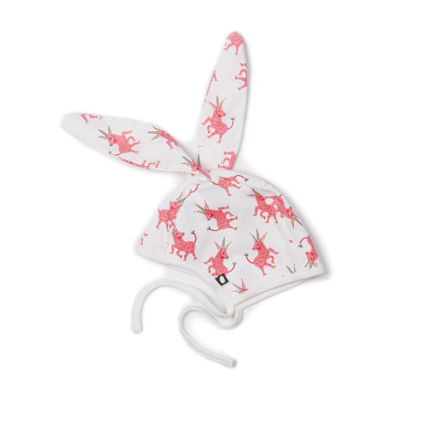 OEUF NYC bunny hat with Unicorns