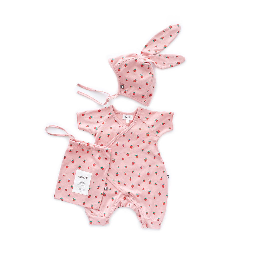 Luxury Baby Gift set in Organic Pima Cotton by Oeuf NYC