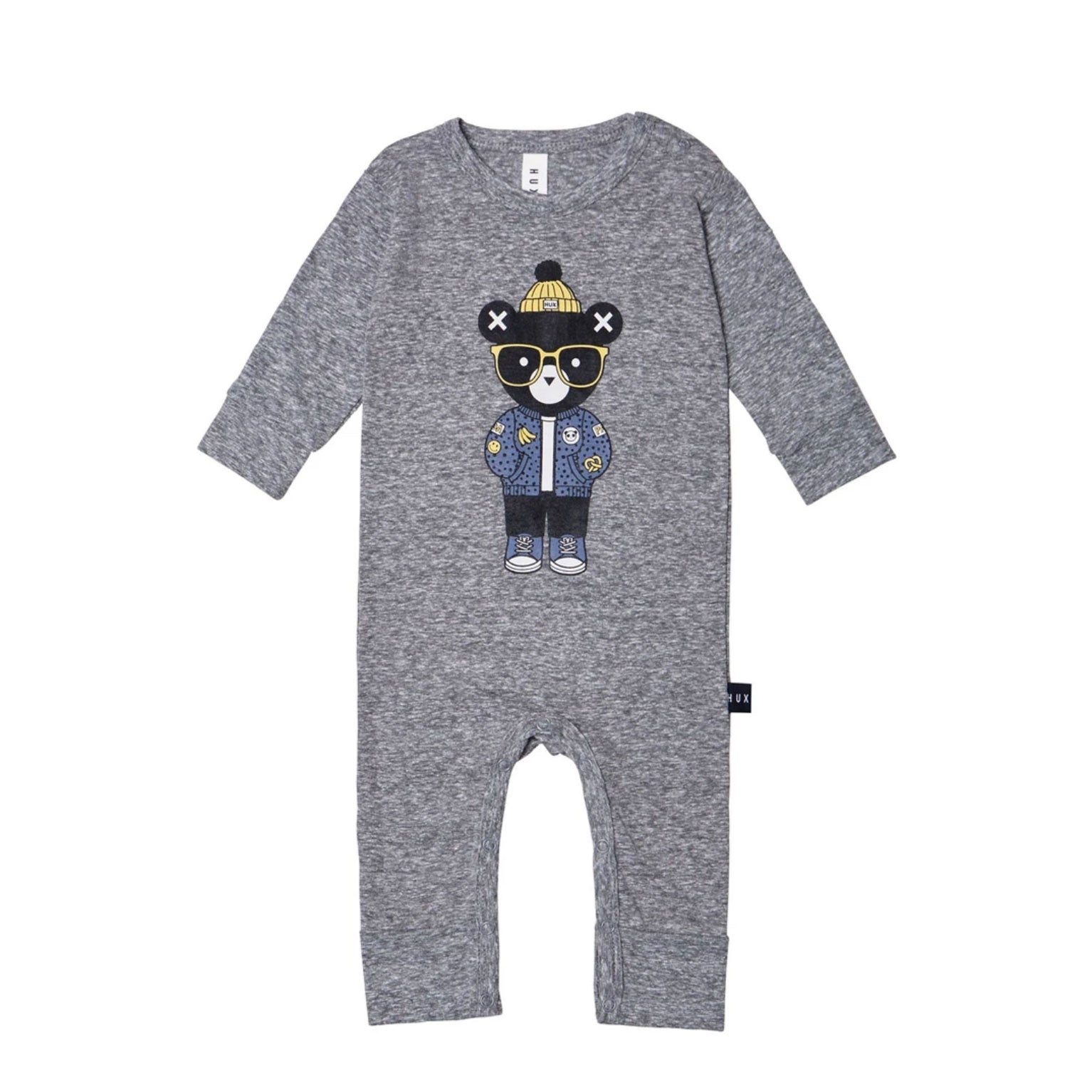 Huxbaby Bear Romper  at Bonjour Baby Baskets