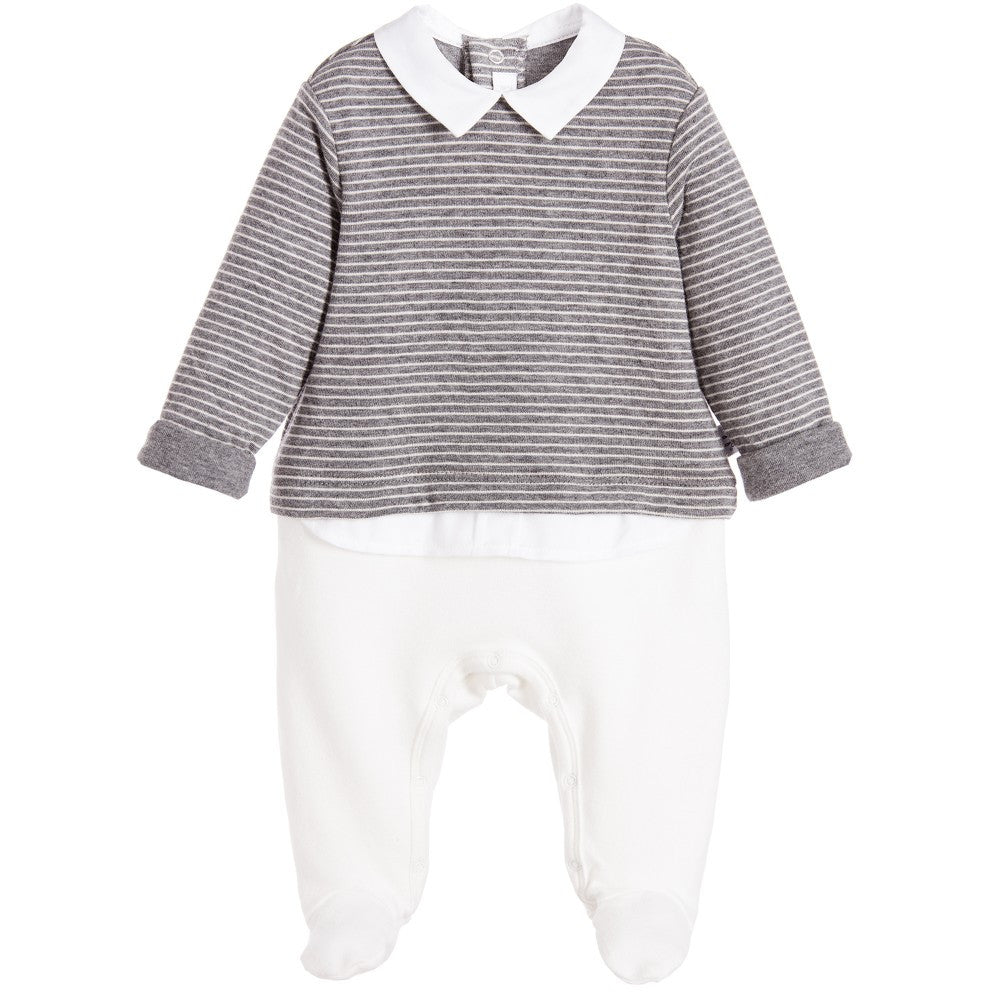 Luxury Babygrow by Il Gufo in Canada