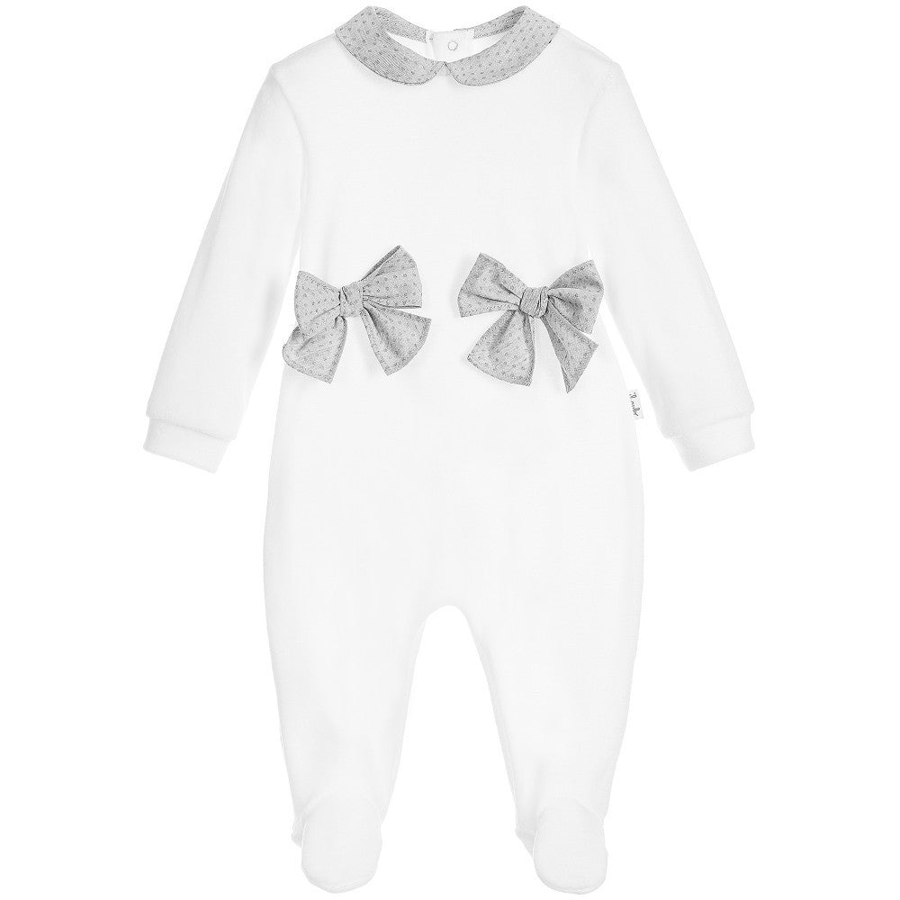 Luxury Baby Girl Sleeper by Il Gufo at Bonjour Baby Baskets