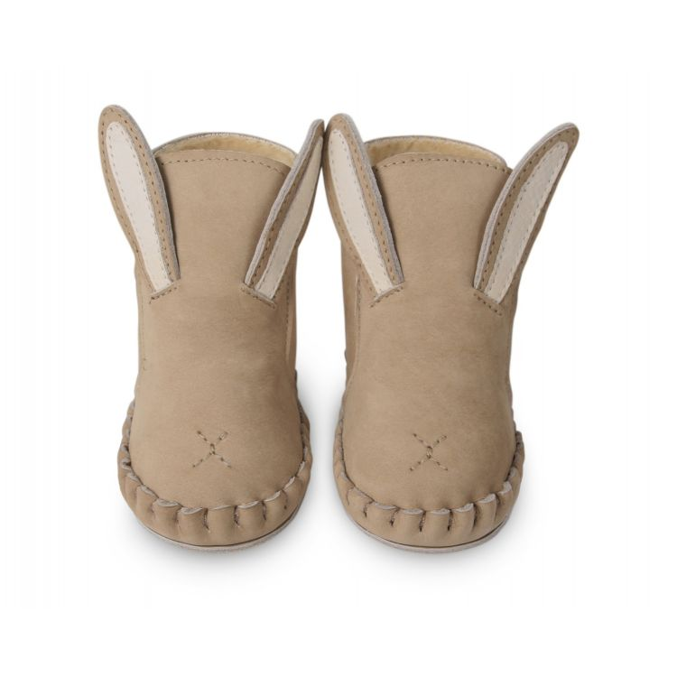Donsje Lined Baby Bunny Leather Boots. Perfect addition to your BYOB (Build Your Own Basket)