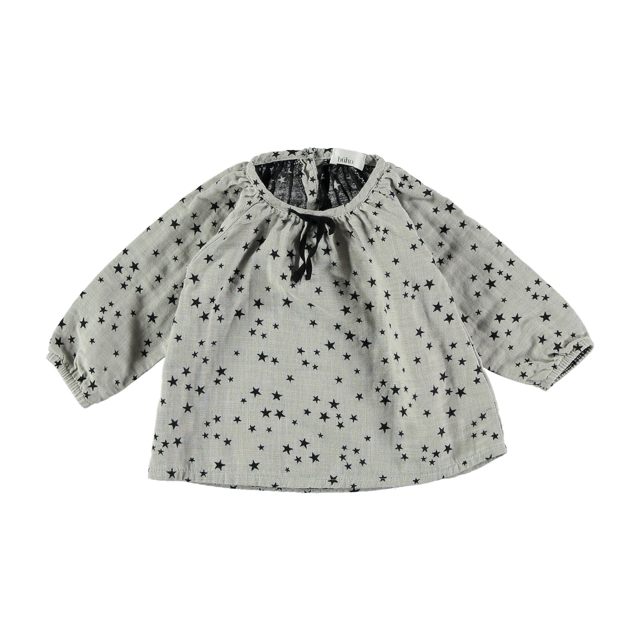 Stars baby blouse by Buho at Bonjour Baby Baskets