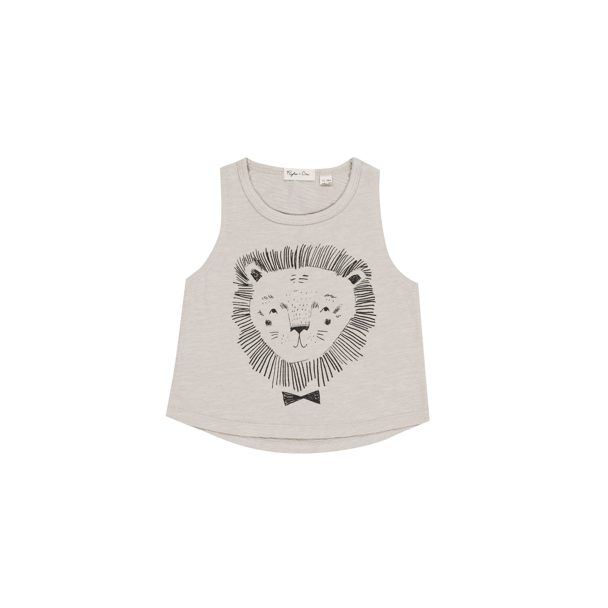 Lion Tank Top by Rylee and Cru at Bonjour Baby Baskets