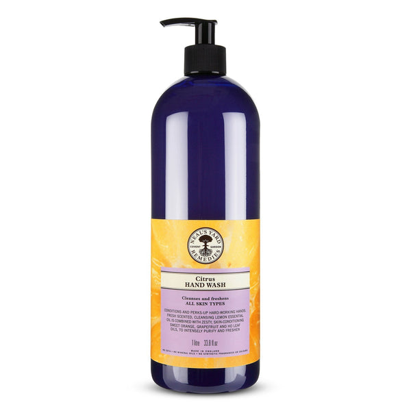 Citrus Hand Wash litre