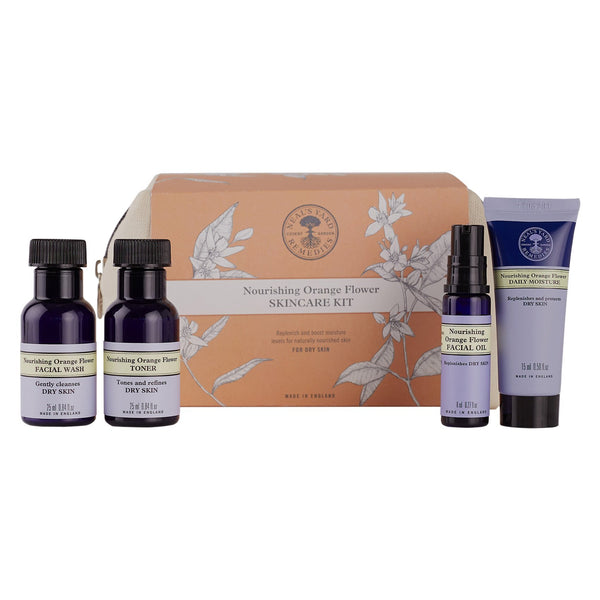 Nourishing Orange Flower Skincare Kit