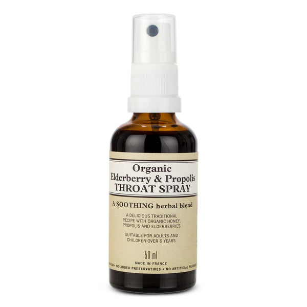 Organic Elderberry & Propolis Throat Spray