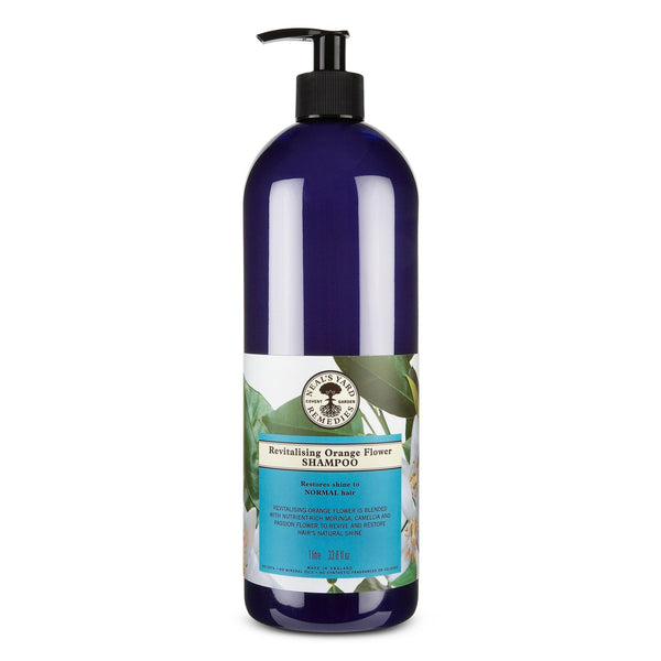 Revitalising Orange Flower Shampoo 1 Litre