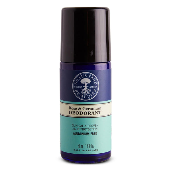 Rose & Geranium Roll On Deodorant
