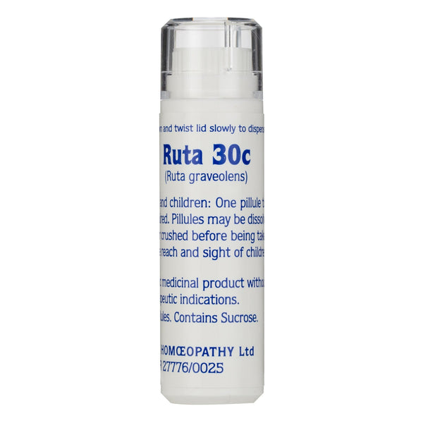 Ruta 30c Helios Homoeopathic Remedy