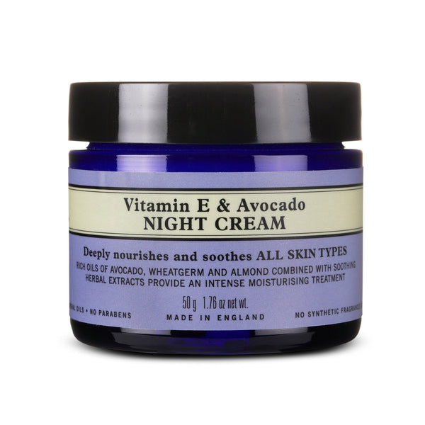 Vitamin E & Avocado Night Cream