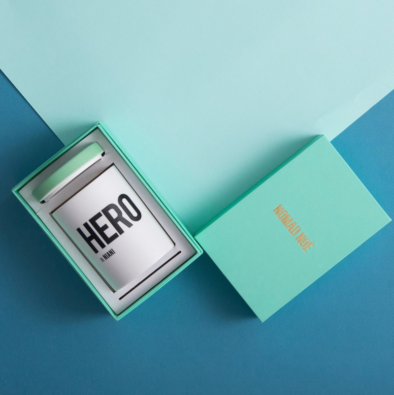 HERO IN NIANI - AMBER & PATCHOULI CANDLE