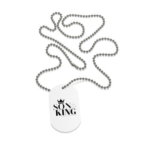 SON Of THE KING Neck Tag (Black)