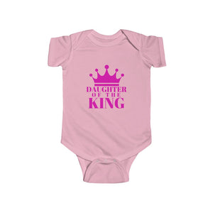 DAUGHTER Of THE KING Baby Jersey Bodysuit