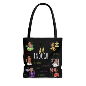 I AM ENOUGH Tote Bag