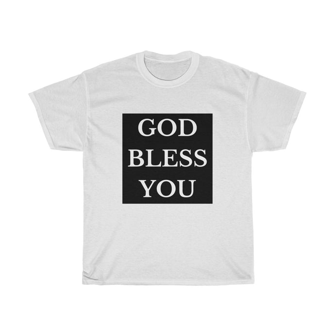 GOD BLESS YOU Unisex Heavy Cotton Tee