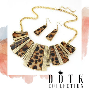 JEWELRY SET 2pc (Cheetah Girl)