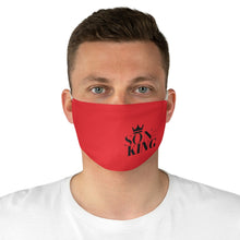 Load image into Gallery viewer, SON Of THE KING Fabric Face Mask (Red)