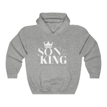 Load image into Gallery viewer, SON Of THE KING Hooded Sweatshirt (White Text)