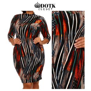 Tribal Dress Size 2X (NEW)
