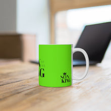 Load image into Gallery viewer, SON Of THE KING Hot Chocolate Mug (Lime)
