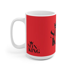 SON Of THE KING Mug (Black on Red)
