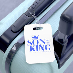 SON Of THE KING Bag Tag (Blue on White)