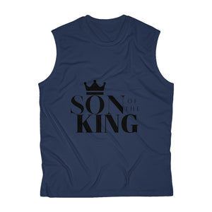 SON Of THE KING Men's Sleeveless Performance Tee