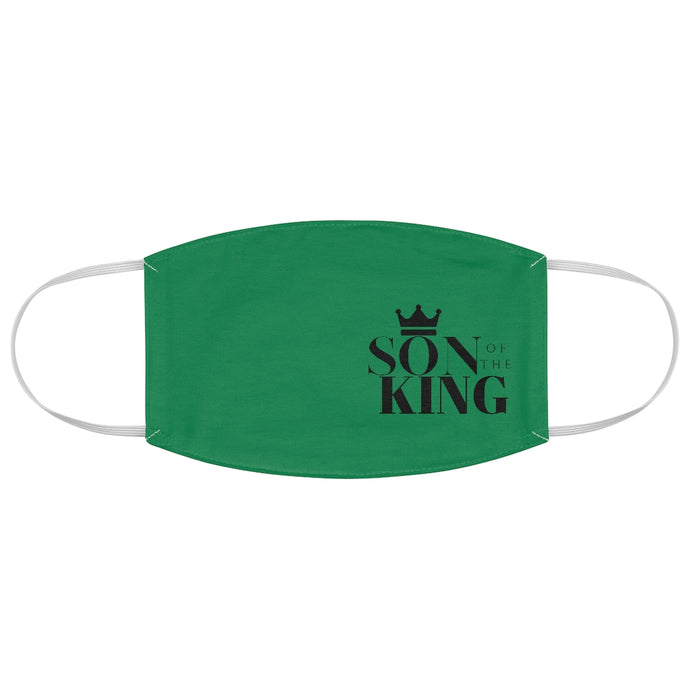 SON Of THE KING Fabric Face Mask (Money Green)