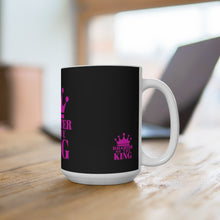 Load image into Gallery viewer, Daughter of The King Ceramic Mug (Blk)